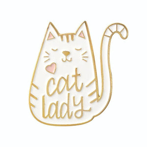So Kawaii! Cat Lady and Dog Mom Pins