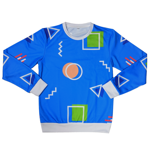 The Arcade Floor Sweatshirt - Sleepy Peach