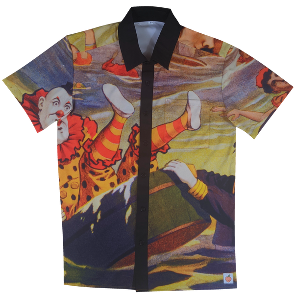 The Bathing Clown Button Up