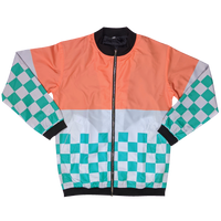 The Citrus Bomber Jacket - Sleepy Peach
