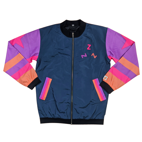 The Electric Sunset Bomber Jacket