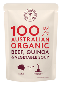 Australian Organic Food Co Beef, Quinoa & Vegetable Soup