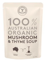 Load image into Gallery viewer, Australian Organic Food Co Mushroom & Thyme Soup