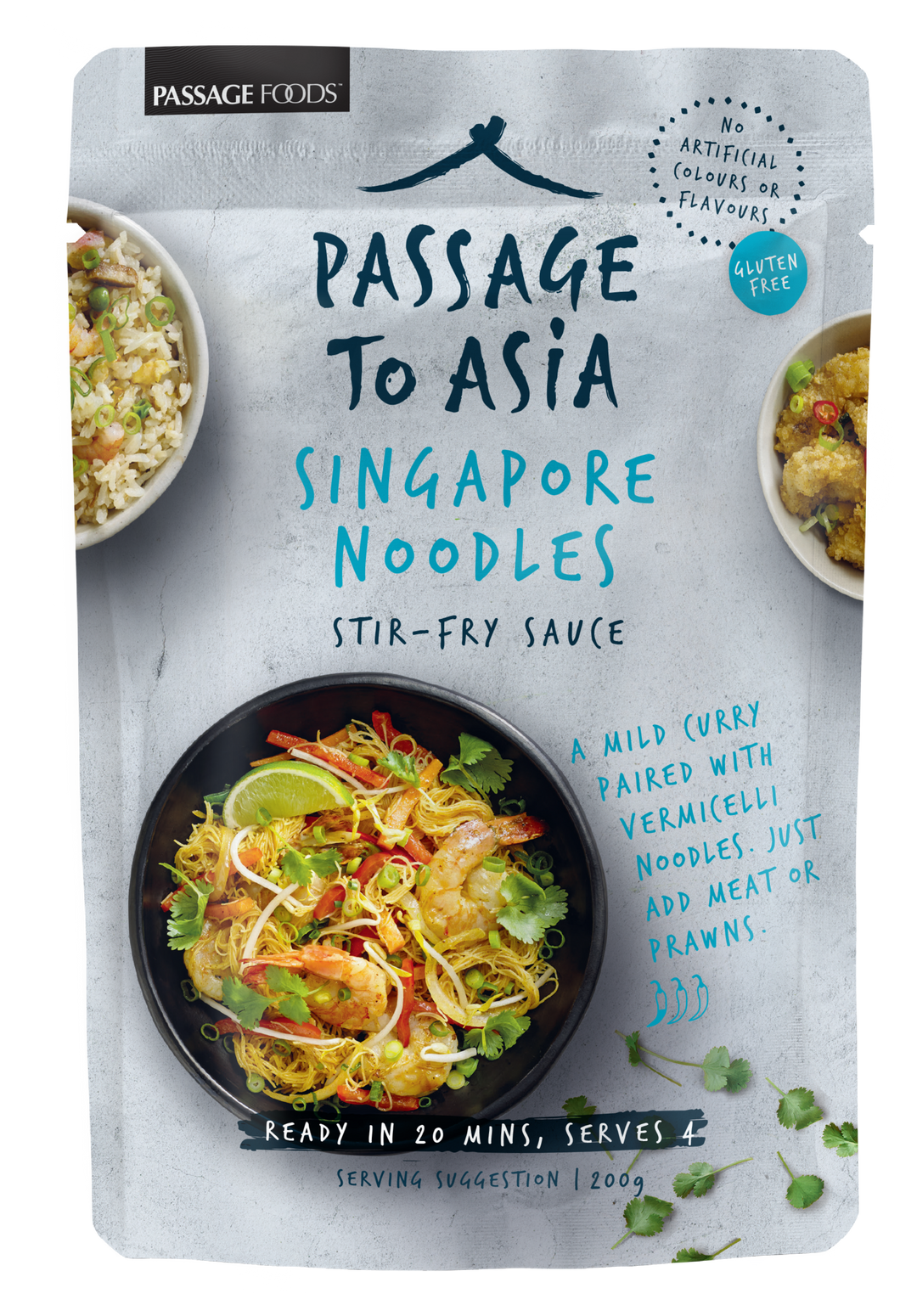 Passage to Asia - Singapore Noodles Stir Fry Sauce