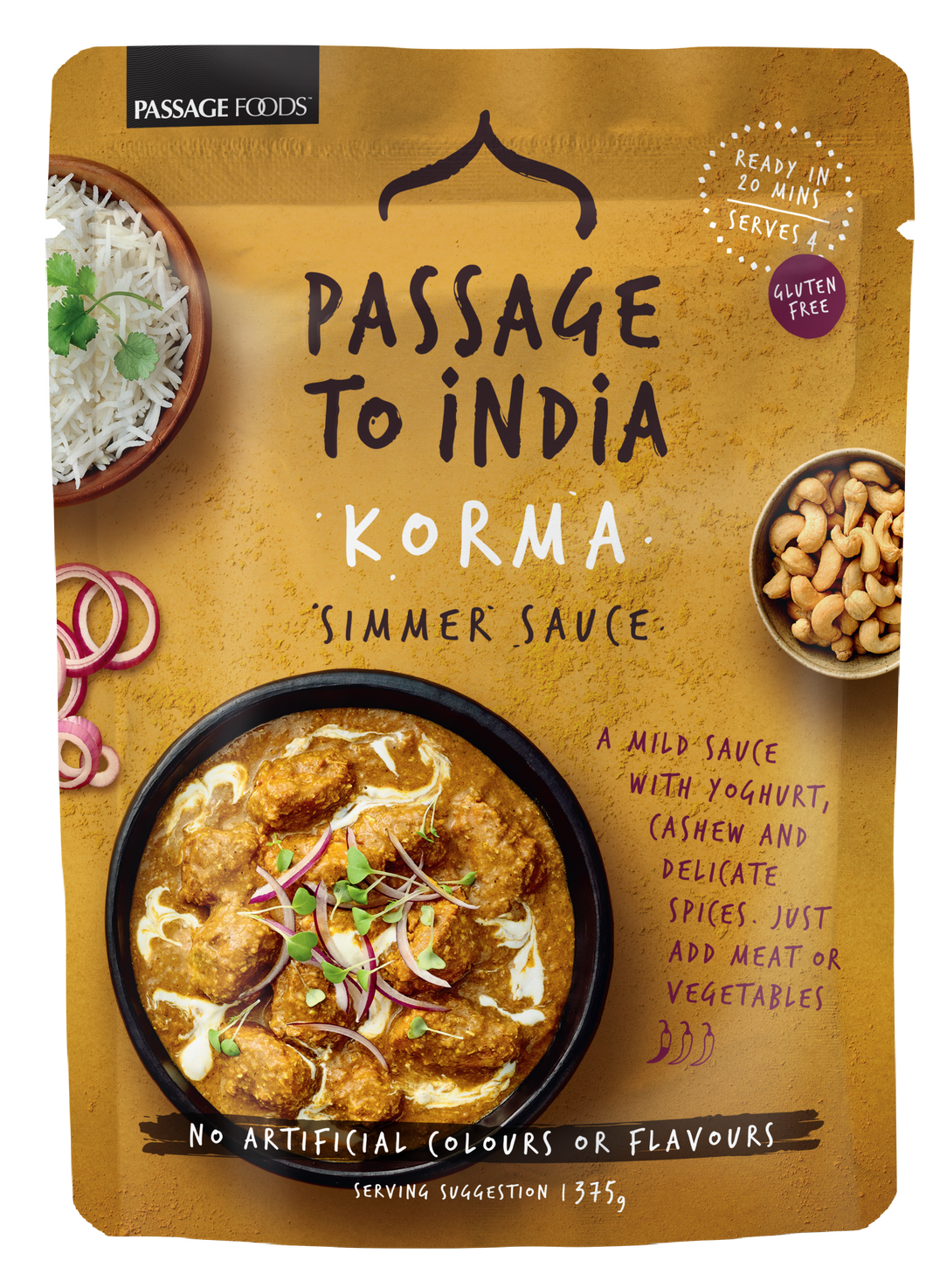 Passage to India - Korma Curry Simmer Sauce