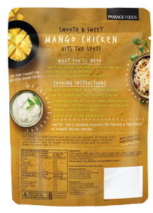 Passage to India - Mango Chicken Curry Simmer Sauce