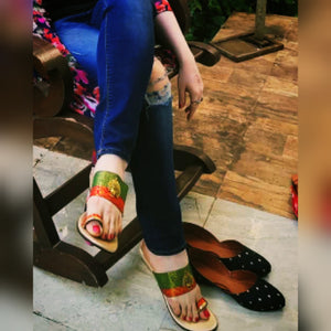 Toe ring wedges with multiple belts - Can be customized [Contact Us]