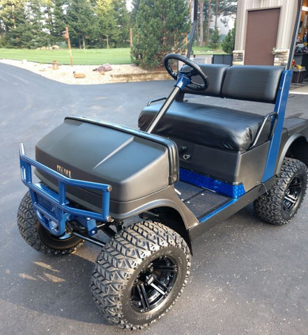 Golf Cart Hunting | Grizzly Metalworks | Side x SideRear
