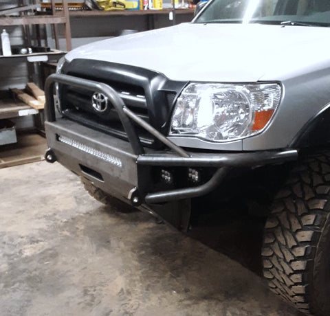 2005 2011 Toyota Tacoma Front winch plate bumper
