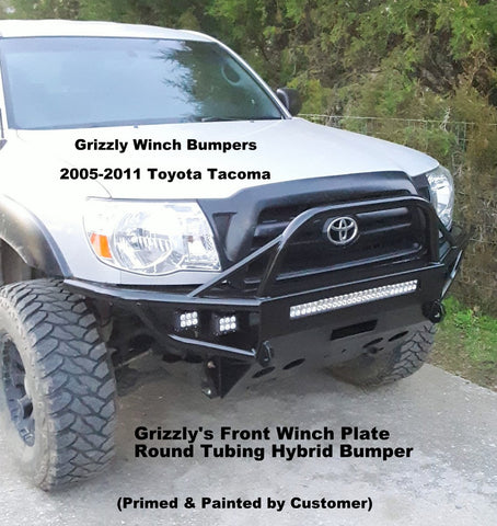 Grizzly Winch Bumpers - Trail Riding Winch Bumpers & Grizzly