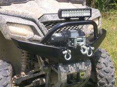 Honda Pioneer 500 Grizzly S Winch Plate Bumper With