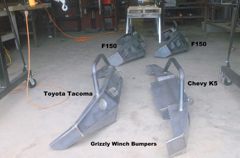 grizzly winch bumpers f150 chevy k5 toyota tacoma