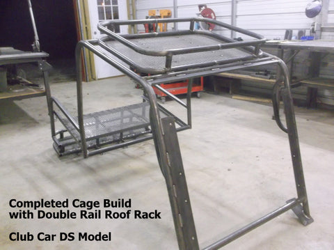 4 passenger golf cart cage Grizzly Metalworks