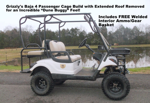 grizzly metalworks baja 4 passenger cage