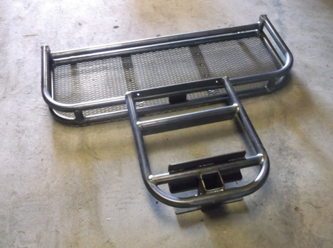 "GRIZZLY METALWORKS 16"" FRONT GEAR BASKET WITH WINCH PLATE BRUSH GUARD"