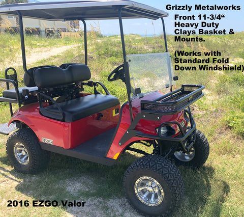 ezgo valor front clays basket
