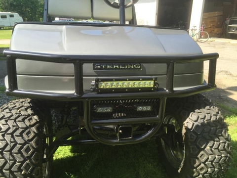 Golf Cart Front Brush Guard | Hunting Golf Carts | Grizzly ...