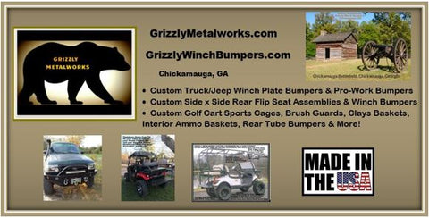 Grizzly Metalworks Grizzly Winch Bumpers