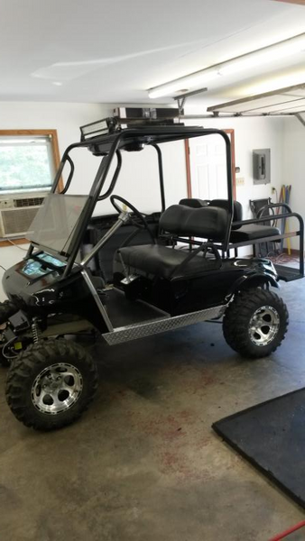 4 Passenger Custom One Piece Cage Build Shawn From
