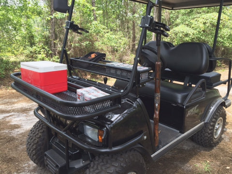 Golf Cart Hunting Grizzly Metalworks Side X Siderear
