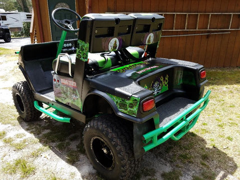 Grizzly Metalworks Yamaha G9 Rear Tube Bumper