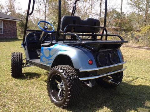 "Copy of BIG BUCK REAR RACKS/BASKETS - 20"" Standard Size (Other sizes available) - Heavy Duty Hunting, Ranch, Campground, Yard Work - Many Golf Cart Models Available  (Available is Grizzly's Big Buck Rack/Ammo Basket Combo)"