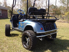 "BIG BUCK REAR RACKS/BASKETS - 20"" Standard Size (Other sizes may be available - per cart model) - Heavy Duty Hunting, Ranch, Campground, Yard Work - Many Golf Cart Models Available  (Available is Grizzly's Big Buck Rack/Ammo Basket Combo)"