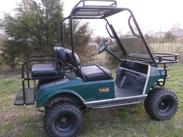Golf Cart Nerf Bars Hunting Golf Carts Grizzly