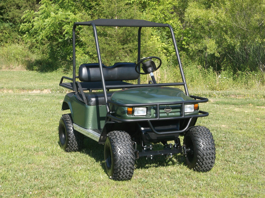 Golf Cart Front Brush Guards   Hunting golf cart accessories