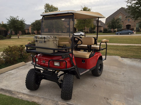 Below Jason From Maine Sent In His Before And After Pictures Of Super Yamaha G2 G9 Golf Cart Us The Following About