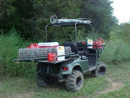Grizzly Metalworks Stealthy Golf Cart Roll Cages | Golf Cart Upper on anglia build, 4x4 build, buggy build, trailer build, car build, camper build, sportbike build, jeep build,