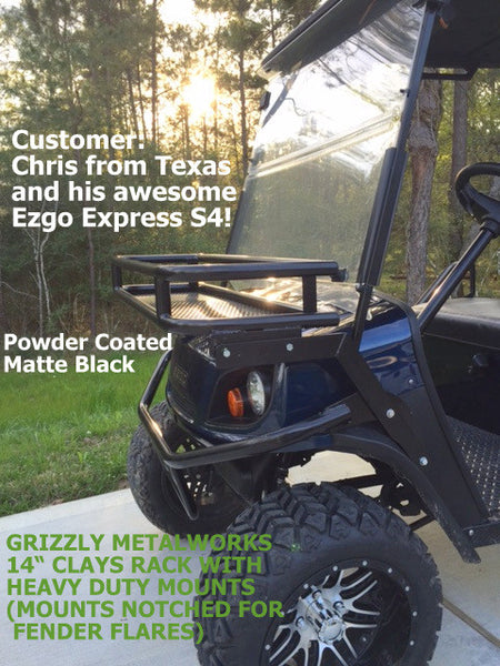 Grizzly Metalworks Heavy Duty Golf Cart Clays Baskets