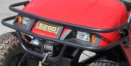 Ezgo Front Brush Guard Hunting Golf Carts Grizzly