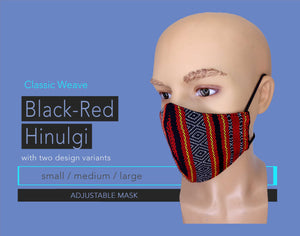 Open image in slideshow, Black-Red Hinulgi