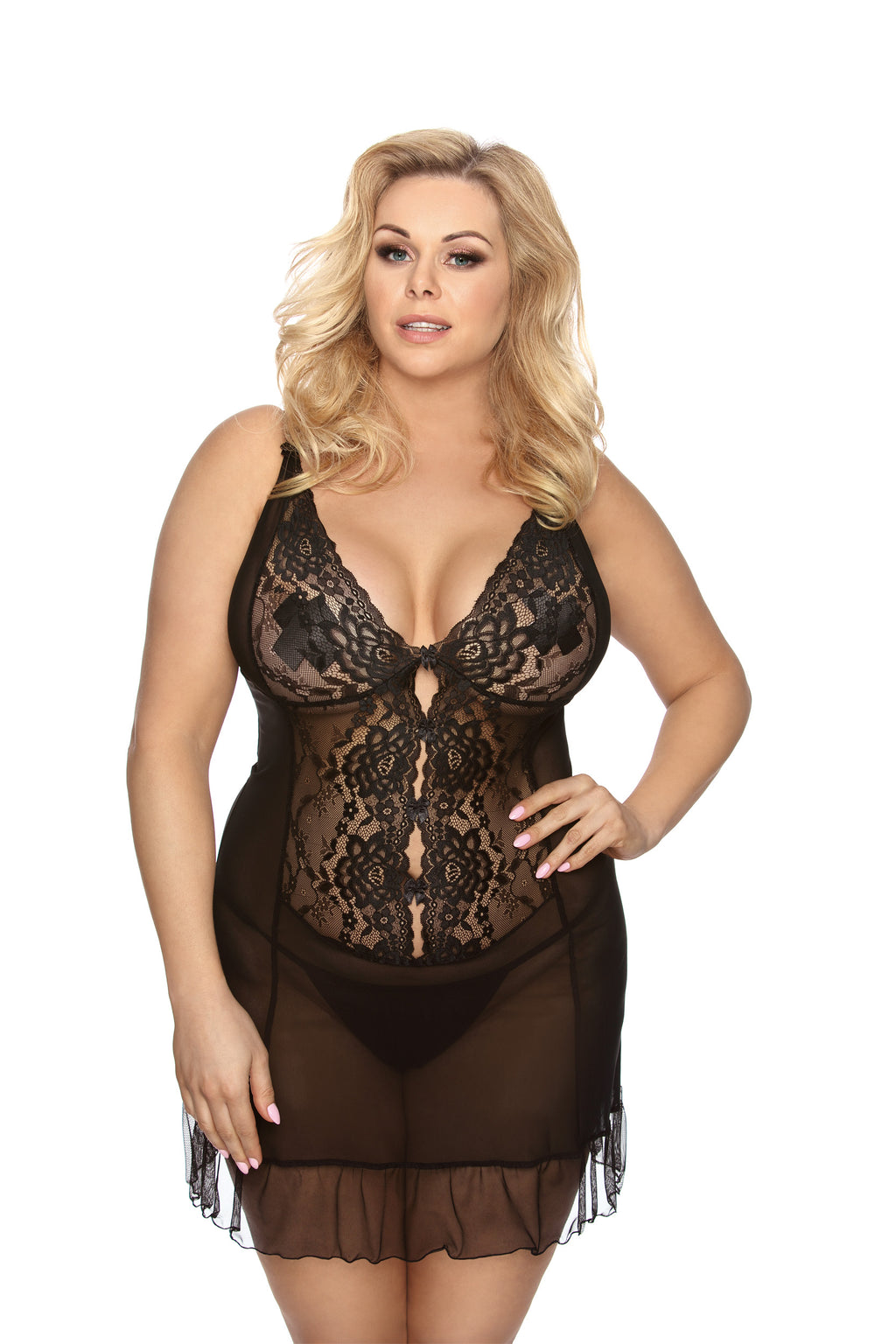 Vela Seductive Black Set - EVOLESCENT