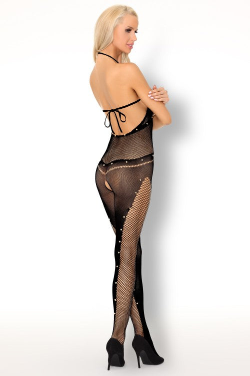 Ilean Black Sexy Bodystocking - EVOLESCENT