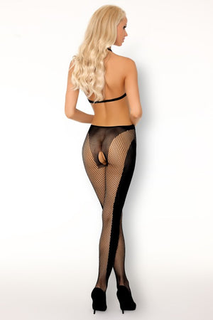 Bistranina Black Sensual Bodystocking - EVOLESCENT