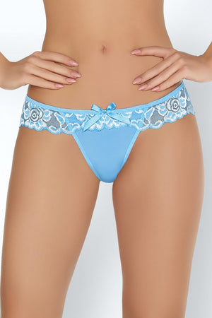 Manoka Beautiful And Very Delicate Bright Blue Set - EVOLESCENT
