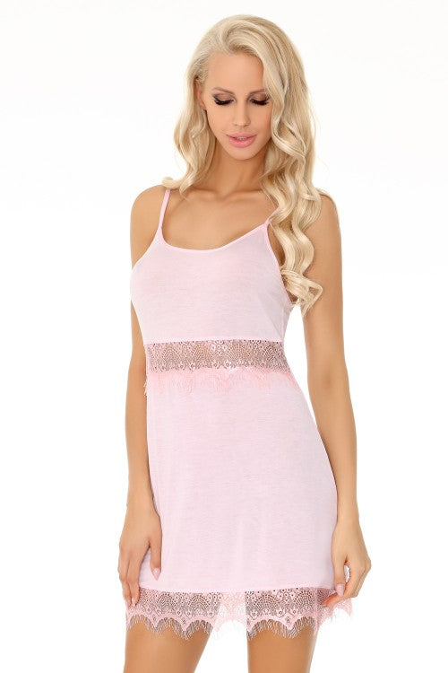 Nimatana Delicate Pink Night Chemise - EVOLESCENT