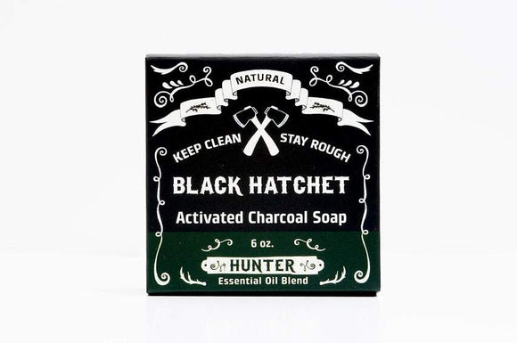 Latika Body Essentials - Hunter Charcoal Bar Soap
