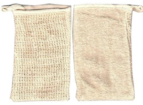 Sisal Dual Texture Soap Pouch