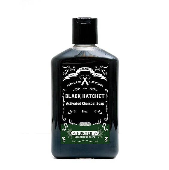 Latika Body Essentials - Hunter Organic Charcoal Body Wash