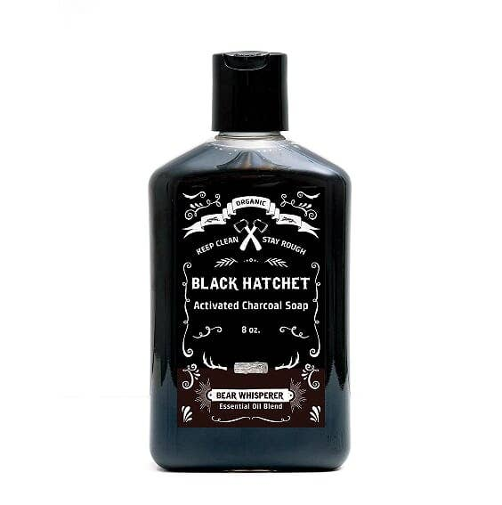 Latika Body Essentials - Bear Whisperer Organic Charcoal Body Wash