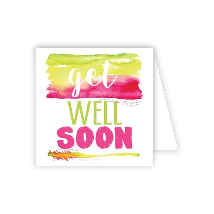 RosanneBeck Collections - Get Well Soon Enclosure Card