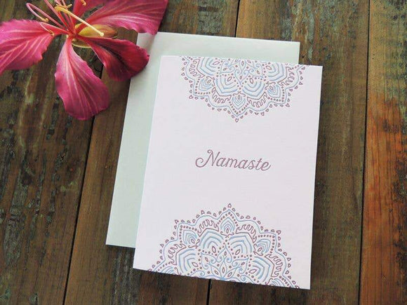 Harken Press - Namaste Card