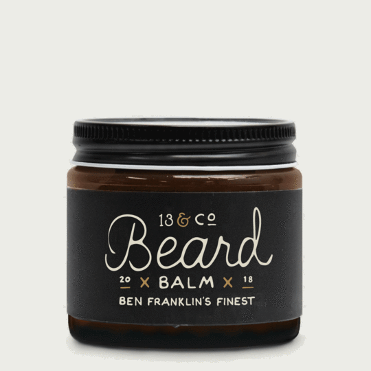 13 & Co - Ben Franklin's Finest Beard Balm
