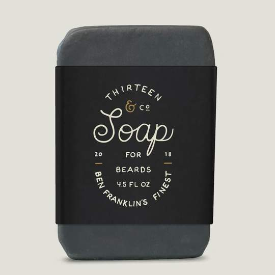 13 & Co - Ben Franklin's Finest Beard Soap
