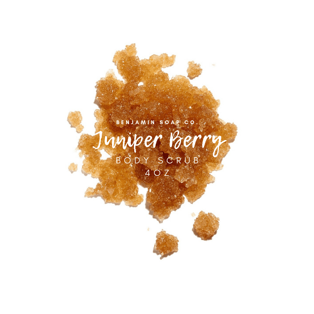 Benjamin Soap Company - Juniper Berry Body Scrub