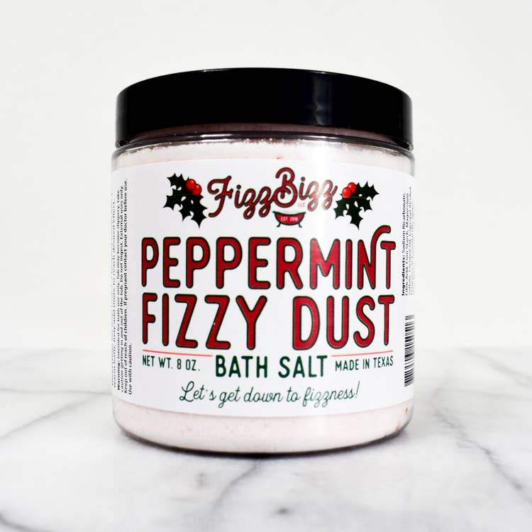 Fizz Bizz LLC Peppermint Fizzy Dust - Bath Salts