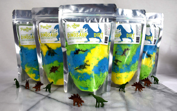 Fizz Bizz LLC - Dinosaur Dirt - Kids Bath Salts